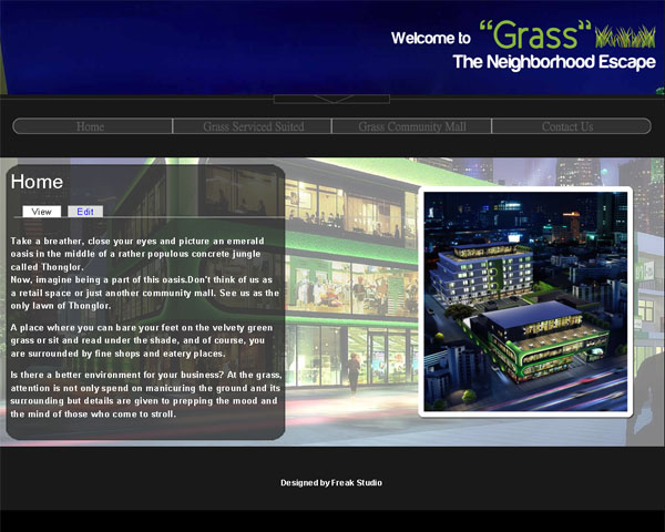Freak Studio 's Client : Grass on Thonglor 12